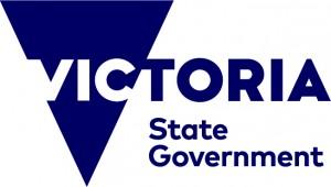 Brand VicStateGov logo PMS 2765_rgb